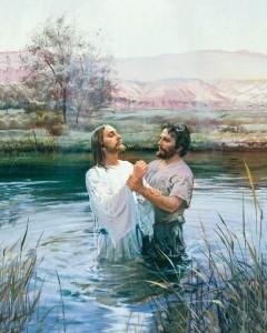 施洗約翰為耶穌洗禮