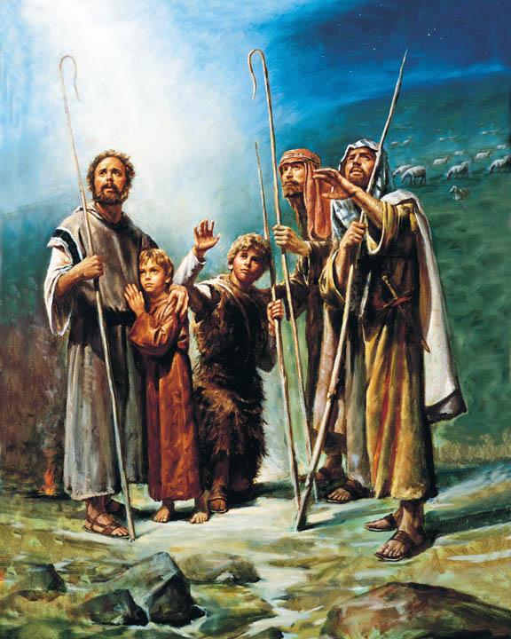 牧羊人見證 耶穌的誕生