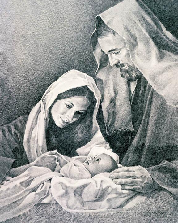 約瑟 見證耶穌誕生