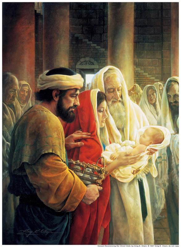 西緬與亞拿 見證基督誕生