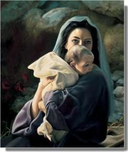 耶穌的母親馬利亞為基督誕生見證