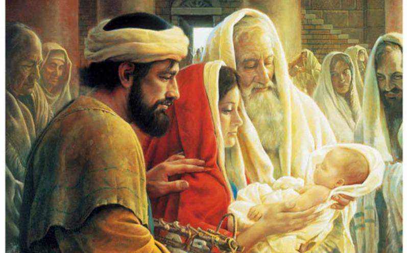 基督誕生的見證人:西緬與亞拿