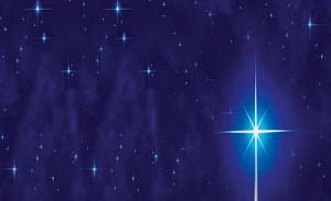 耶穌誕生時天上有顆明亮的星, 天上唱詩班 見證耶穌誕生