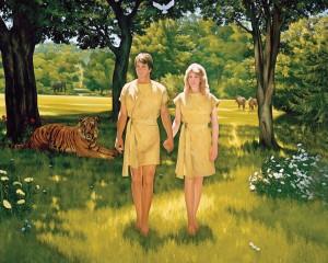亞當和夏娃的墜落
