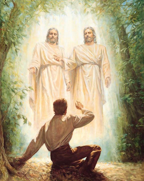 神和耶穌基督向 約瑟‧斯密 顯現