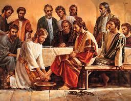 耶穌幫門徒洗腳
