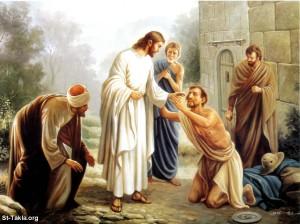 耶穌基督治癒眼盲