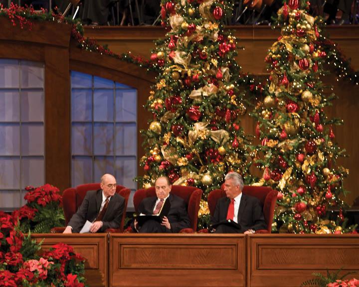 耶穌基督後期聖徒慶祝耶穌基督的誕生