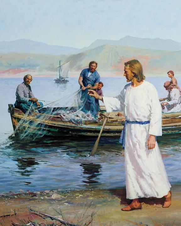 耶穌召喚十二使徒,摩門,彼得,安得烈
