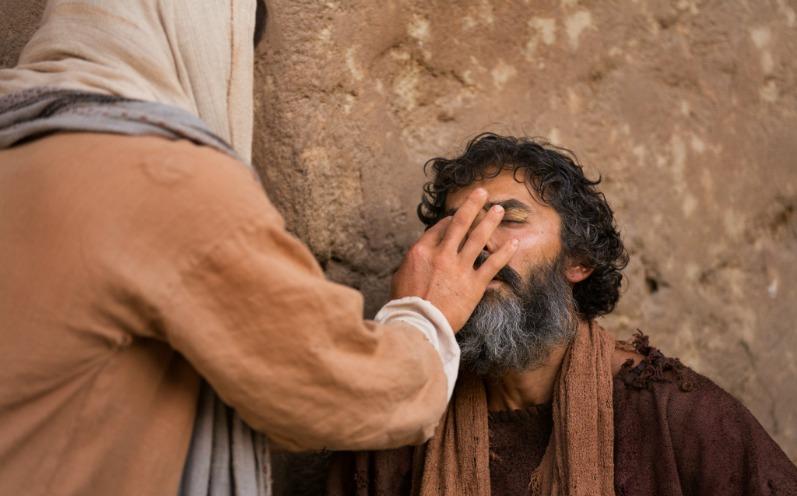 耶穌治癒盲人
