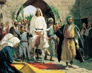 耶穌,凱旋,耶路撒冷