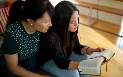 研讀經文帶領我們接近基督