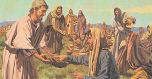 耶穌餵飽五千人