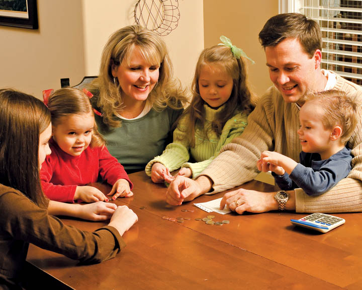 通過家人家庭晚會更加接近耶穌基督