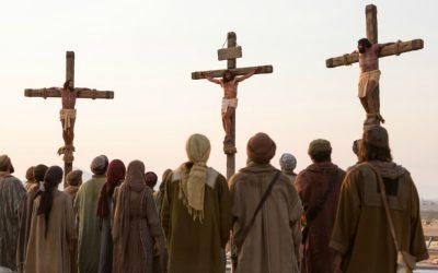 基督被釘死在十字架上時,摩爾門經中發生的事