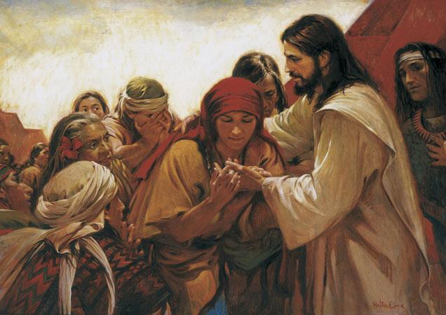 摩爾門經中的基督:創造、墜落與贖罪