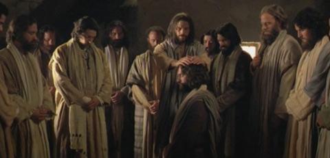 耶穌授予聖職