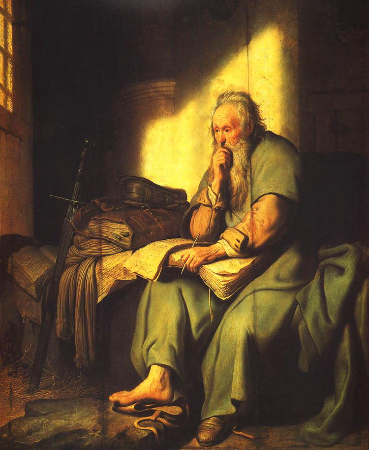 使徒保羅在考驗當中看見基督
