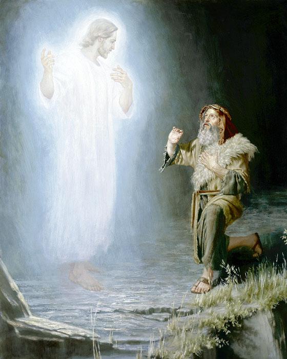 摩西看到耶和華