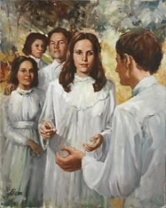 摩門教相信靈的世界的人正等待福音
