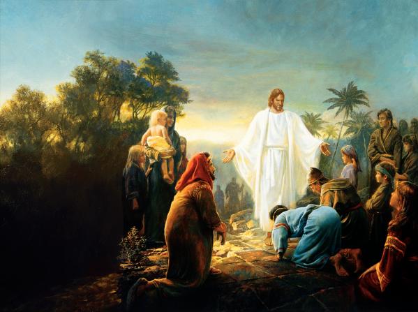 摩門經記載耶穌拜訪美洲大陸