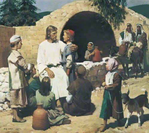 摩门教相信基督之光