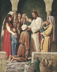 摩门教相信基督治愈的能力