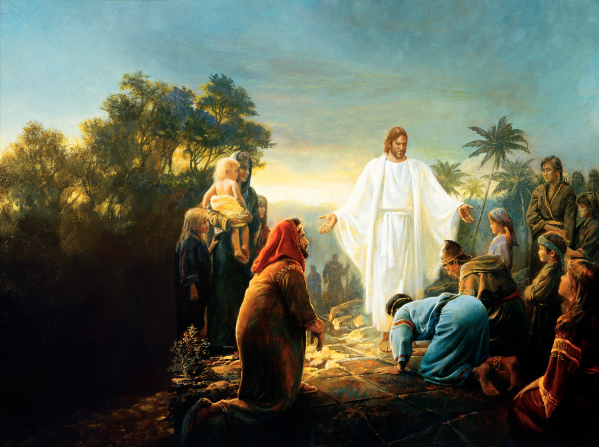 摩门经记载耶稣拜访美洲大陆
