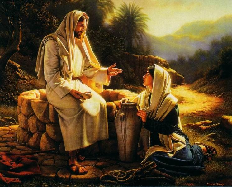 耶穌與井邊的婦女