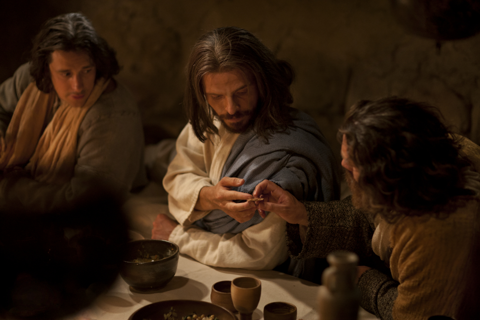 耶穌祝福聖餐