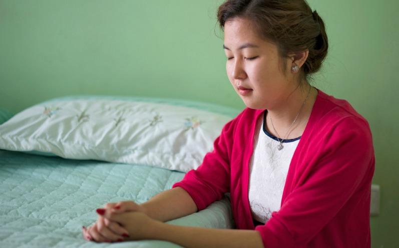經文中教導, 祈禱驅散煩憂
