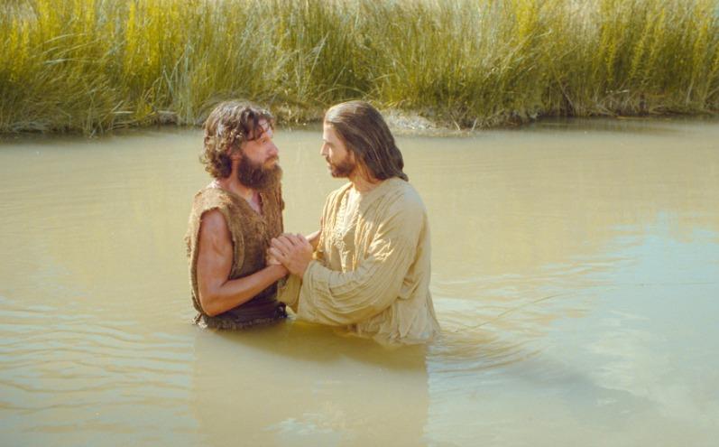 施洗約翰 幫耶穌洗禮