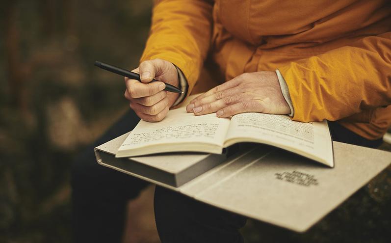 寫日記的方式